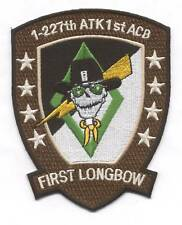 """1-227th AVN REGT 1st ACB """"FIRST LONGBOW"""" #1 patch"""