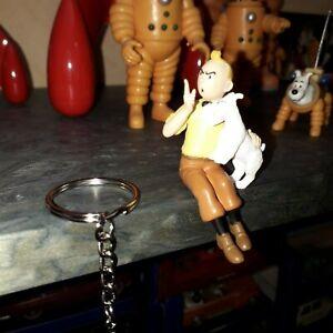 Figurine Tintin et Milou - possibilité porte clé