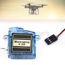 Hotest MiNi Micro 4.3g Servo for Control Aeromodelling Aircraft Flight Direction