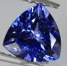 MAN MADE TANZANITE 15 MM TRILLION CUT BEAUTIFUL BLUE COLOR