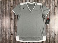 Women's Under Armour Sporty Mesh Locker Shirt Size Medium
