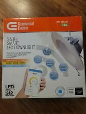 Commercial Electric T62 5 or 6 in. Recessed Smart LED Dimmable Downlight New