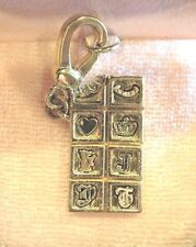 2005 JUICY COUTURE CHOCOLATE BAR CHARM RARE AND RETIRED