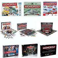 TV Show Series & Movies Monopoly Board Family Fun Play Game Brand New Gift