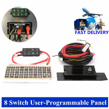 8 Switch 8100 User-Programmable Panel Power System for Jeep Boat &Other Top Sell