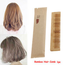 Useful Handmade Bamboo Hair Comb Pocket Anti Static Hairdressing Comb Hair Care