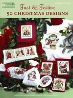 Fast & Festive 50 Christmas Designs: Cross Stitch (Paperback or Softback)