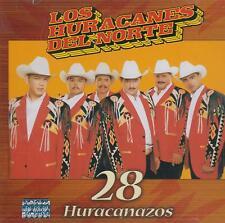 CD - Los Huracanes Del Norte NEW 28 Huracanazos FAST SHIPPING !