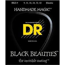 DR Strings BKE-9 Black Beauties Light Electric Guitar Strings 9-42