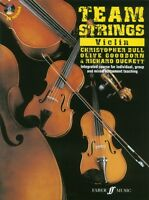 Team Strings Violin (Book/CD) - Same Day 1st Class P+P