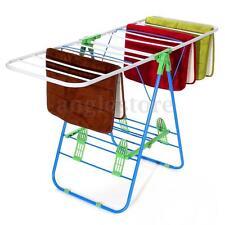 Sunbeam Folding Foldable Clothes Drying Rack Hanger Laundry Dryer Household US