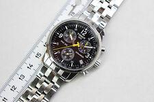 Polierte Tissot Armbanduhren mit Chronograph