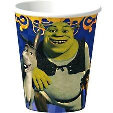 SHREK THE THIRD 9oz PAPER CUPS (8) ~ Birthday Party Supplies Beverage Drinking
