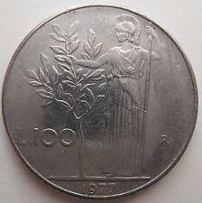 Italia 100 liras 1977