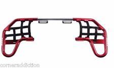 Nerf Bars by Tusk for HONDA TRX 450ER/450R 2004-2014 Red/Black Webbing
