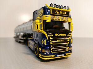 "WSI 01-2040 Scania R6 Topline ""Jimmy Rosenqvist"" 1:50  ""+der OVP"""