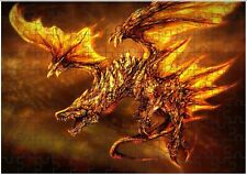 Phoenix Dragon A4 JIGSAW Puzzle Birthday Christmas Gift (Can Be Personalised)