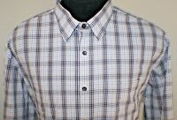 Mens Jos A Bank Shirt Size sz XL X-Large Long Sleeve Button Front