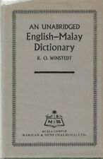 An Unabridged English-Malay Dictionary - RO Winstedt (2nd Copy)