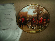 """""""The Meet"""" Plate - In The Huntsman's Call ~ Hunting Nostalgia + Certificate"""
