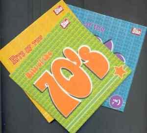 HITS OF THE 70s 80s & 90s - PROMO 3 CD SET: 1OCC, JAM, REPUBLICA, SWEET, SLEEPER