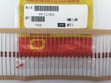 (25 pcs) PF1J1K5 Ohmite, 1 Watt 1.5K Ohm 5%, Metal Film Resistor (Axial)