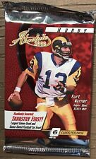 1 (ONE) 2000 PLAYOFF ABSOLUTE Football Sealed HOBBY Pack! Tom Brady RC?