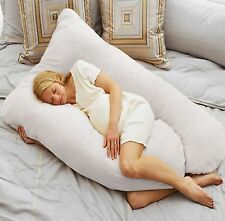 U Shape Total Body Pillow Pregnancy Maternity Comfort Contoured Support Sleep