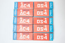 5 rolls 120 colour film Svema  DS-4, DC-4. Medium format negative roll film