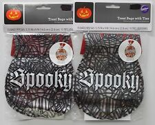 30 CT WILTON SPOOKY TREAT BAGS Halloween Party Favors Candy Popcorn Spider NEW