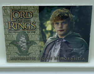 Lord of the Rings - Sam's Travel Waistcoat memorabilia card - Topps fabric Movie