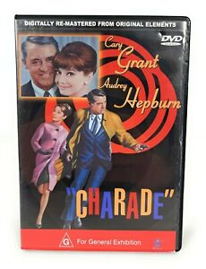 Charade (DVD, 1963) Cary Grant Region 4 Free Postage