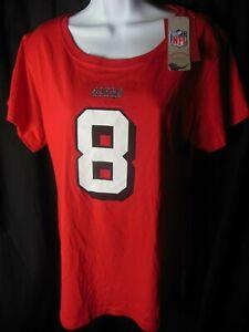 San Francisco 49ers Steve Young  #8 NFL Women's Mitchell & Ness Shirt