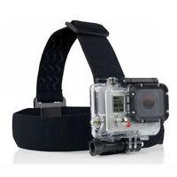 Elastic Headband For GoPro SJ4000 Xiaomi Yi Adjustable Head Strap Mount Belt