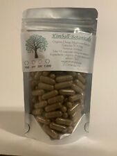 Organic Chaga Mushroom Extract 50:1 500mg Capsules Immune Health Boost