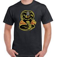 Cobra Kai Mens Funny Karate Kid Inspired T-Shirt Mr. Kesuke Miyagi Martial Arts