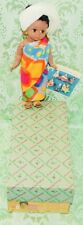 """MADAME ALEXANDER 7"""" AFRICA AFRICAN DOLL #766 ORIGINAL BOX WITH WRIST TAG"""