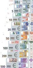 Hasta Specimen-Set (Euro-Testnoten) Dinero Fresco