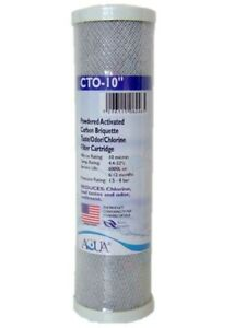 10 inch CTO Carbon Filter Reverse Osmosis RO Water Fliter Cartridge