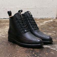 NEW Mens Mr. Hare Black Freud Oxford Closing Boots GENUINE RRP: £645 - Size: 7
