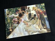 Sorolla: Spanish Master of Light postcard - National Gallery, London.