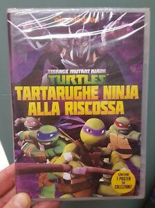 TEENAGE MUTANT NINJA TURTLES - TARTARUGHE NINJA ALLA RISCOSSA - DVD - NUOVO