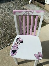 Children 's Hand Painted Personalized Chair - Name ZOEY