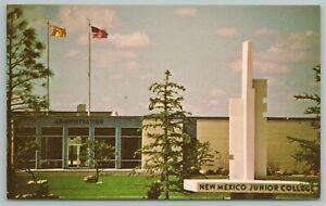 Hobbs New Mexico~Junior College Building~Vintage Postcard