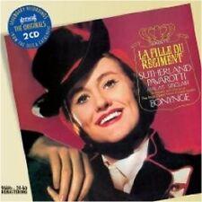 "LUCIANO PAVAROTTI ""LA FILLE DU REGIMENT (GA)"" 2 CD NEU"