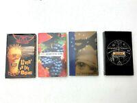 Lot of 4 Cassette tape Singles 80's Pop Rock INXS, Aerosmih Queensryche, Enigma