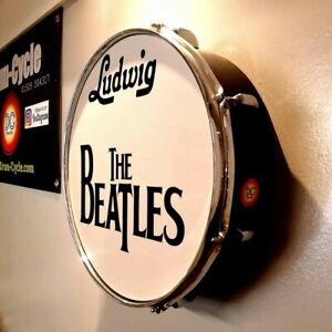 THE BEATLES Replica Bass Drum.