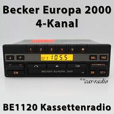 Becker Europa 2000 BE1120 4-Kanal Oldtimer Youngtimer Kassettenradio A0038200386