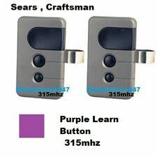 Craftsman 139.53753 Sears Garage Door Remote Control