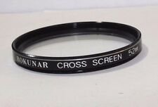 Used Lens Filter: B21609 Rokunar Cross Screen 52mm Four Star CS Japan